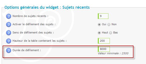 """(1386) Problème d'affichage du widget """"derniers sujets"""" sous chrome et opéra . 10-03-14"""