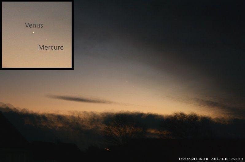 Conjonction Mercure-Vénus Mercur10