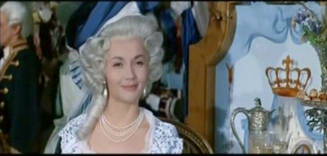 """""""La Fayette"""" de Jean Dréville (1962), avec Liselotte Pulver Liselo10"""
