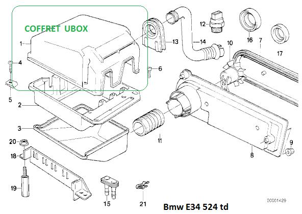 [BMW 524.TD An 1991] Purger le  gasoil  12_cof10