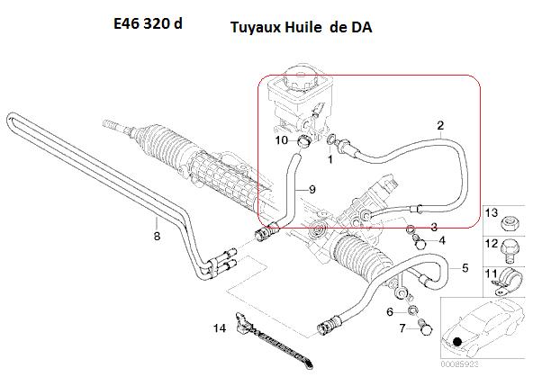 [ BMW e46 320d M47 an 2003 ] bruit de direction assistée  32_e4610