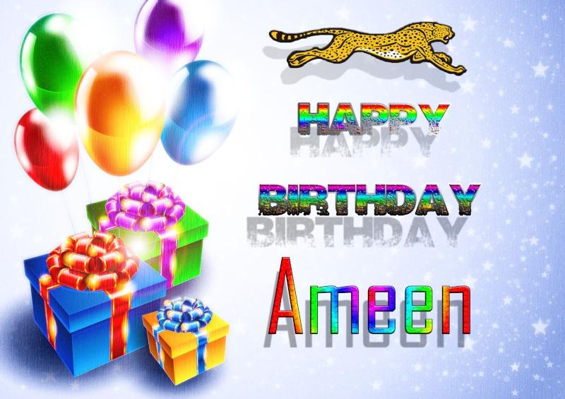 Happy Birthday [DS]Ameen Birthd10