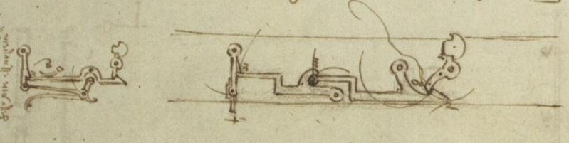Complex crossbow triggers by Da Vinci Da_vin11