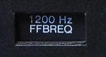 Filtre actif JBL/UREI 5235 1200hz10