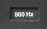 Filtre actif JBL/UREI 5235 800hz10