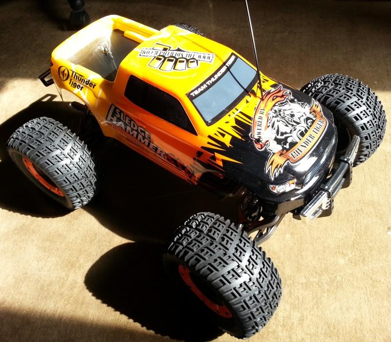 """Thunder Tiger S50 """"Sledge Hammer"""" 20140912"""