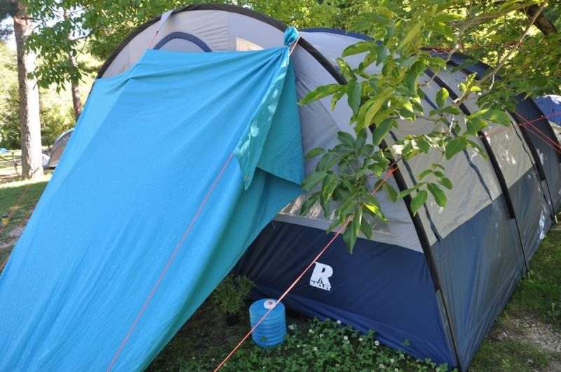 Camping Lacolle *** (Calme & Nature) Castellane 04 Tente10