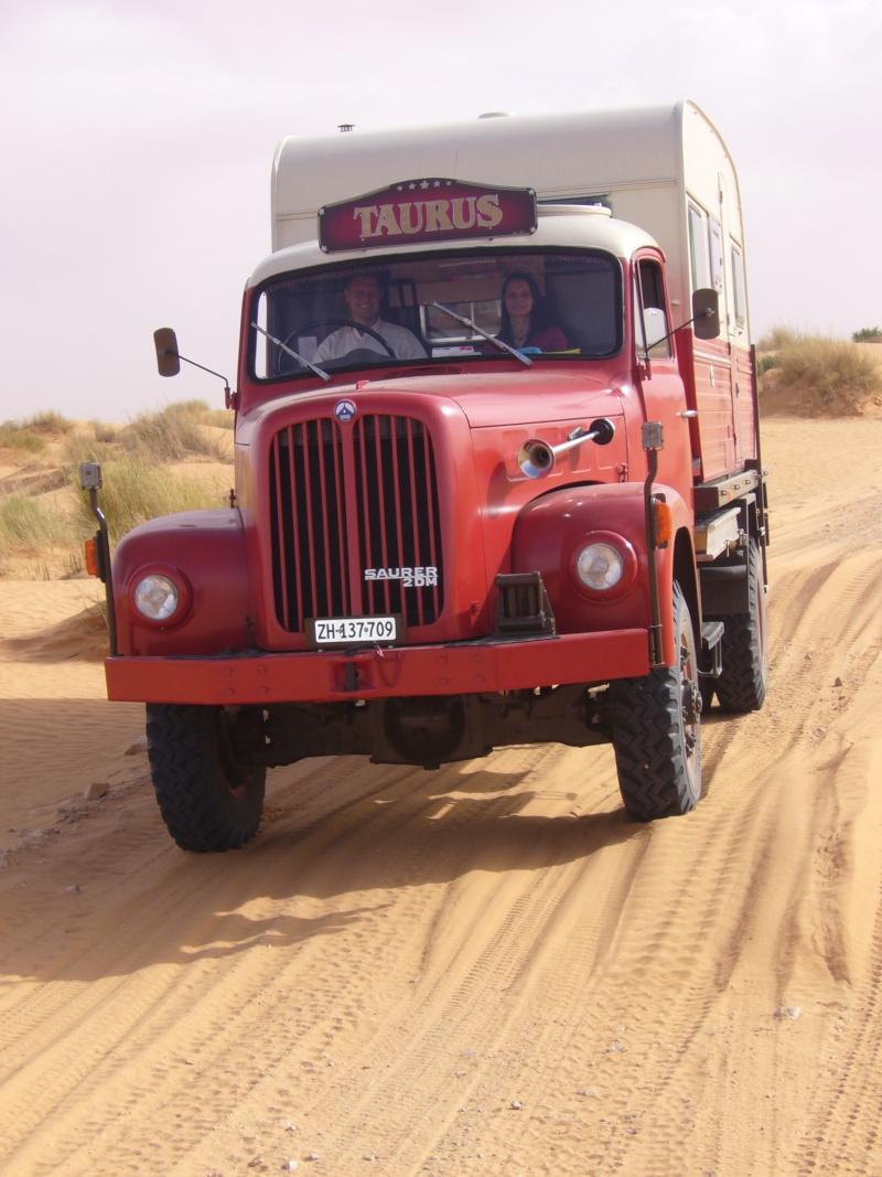 Unimog 411 Turbo dans la neige - Page 2 Tunisi15