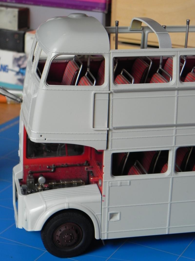 AEC Routemaster London double decker bus 1/24 Revell terminus tout le monde descend! - Page 2 Dscn0131