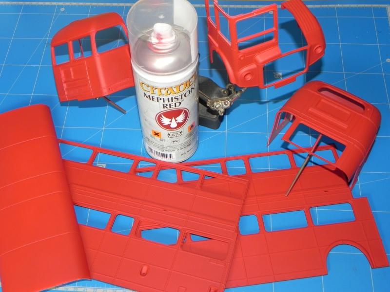 AEC Routemaster London double decker bus 1/24 Revell terminus tout le monde descend! - Page 2 Dscn0212