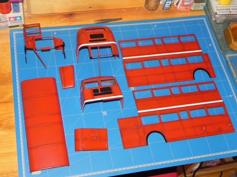 AEC Routemaster London double decker bus 1/24 Revell terminus tout le monde descend! - Page 2 Dscn0226