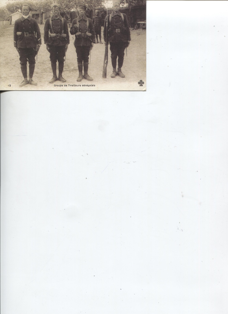 Tirailleurs Sénégalais guerre de 1914-1918 Troupe15