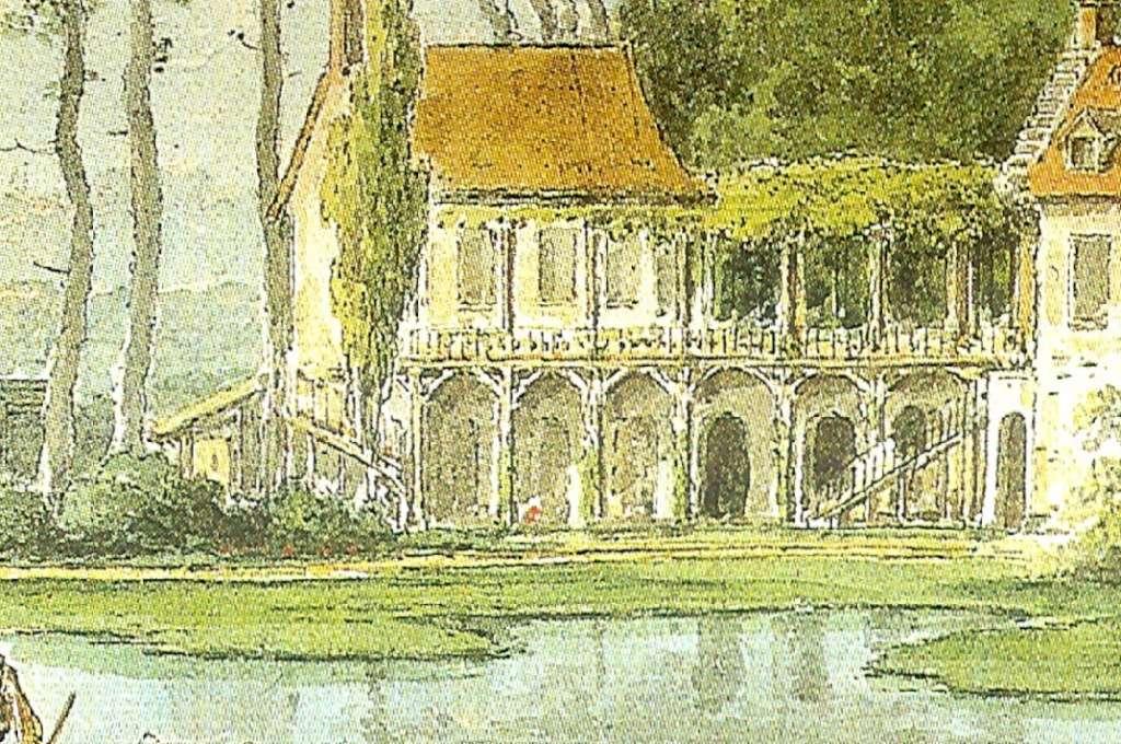Hameau du Petit Trianon : Restauration de la maison de la Reine  Claude10