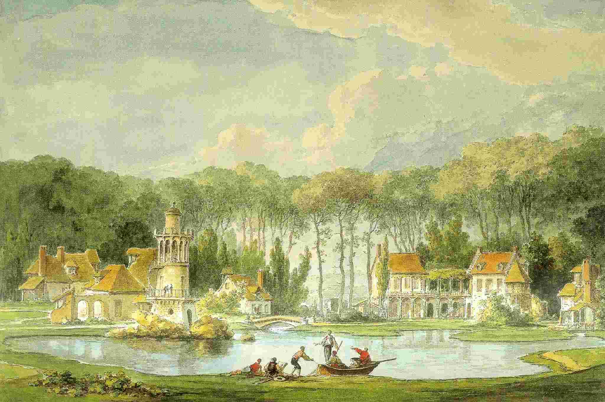 Hameau du Petit Trianon : Restauration de la maison de la Reine  Claude11