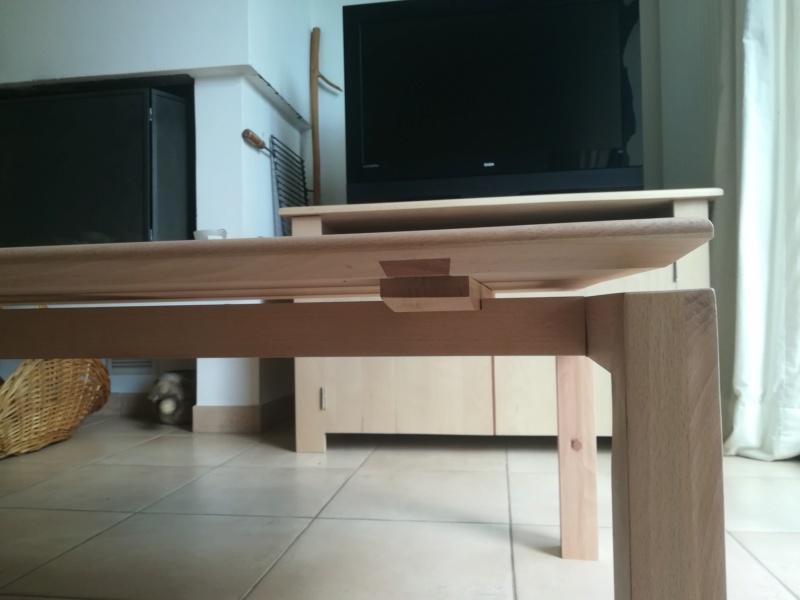 Table basse flottante en hêtre Img_2715