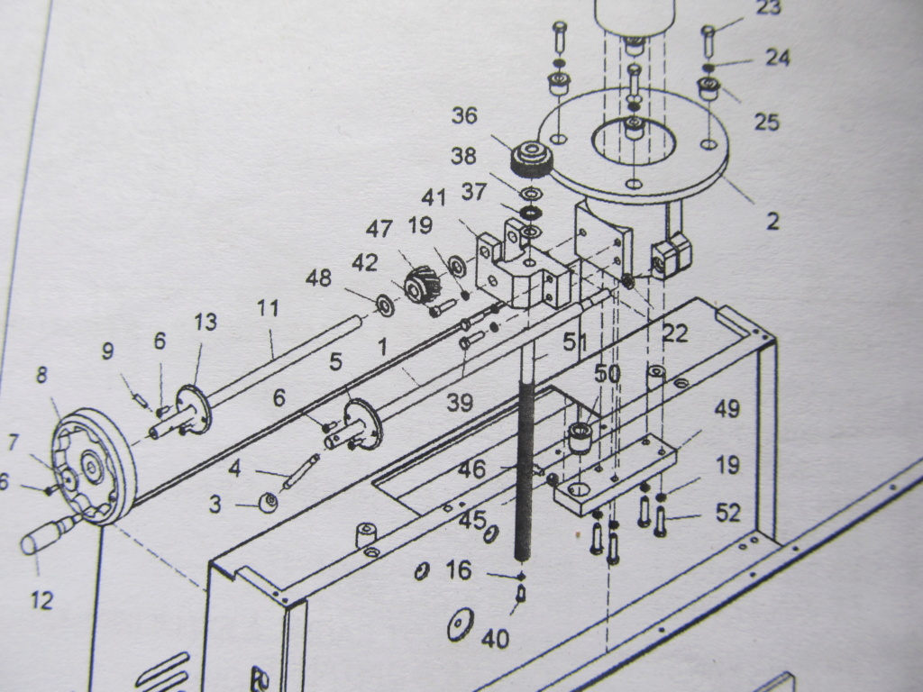 [Résolu] Au secours ! Problème avec la montée descente de ma R/D (DG320 TS) Problz21
