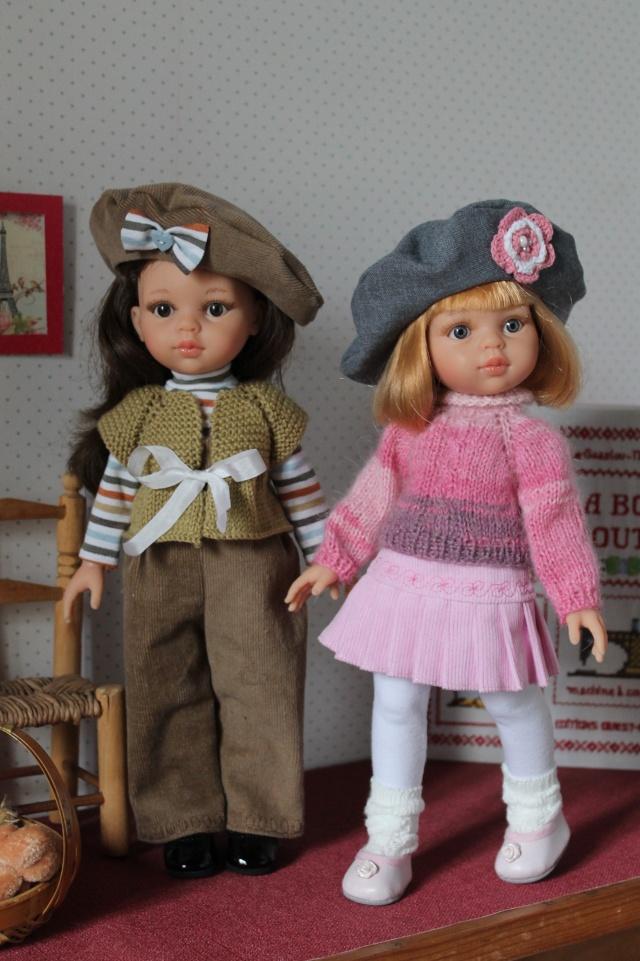 Masha et Belle, mes deux Paola Reina... Img_8914