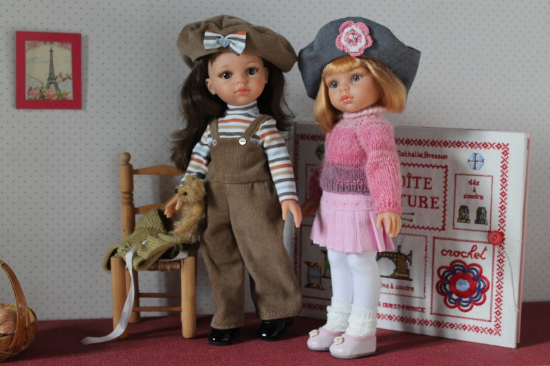 Masha et Belle, mes deux Paola Reina... Img_9010