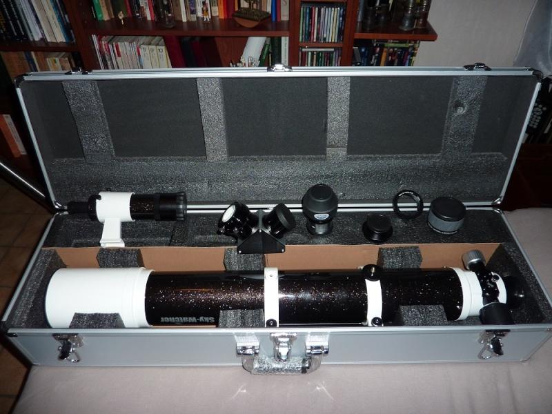 Sky-Watcher Evostar-100 ED DS-PRO (OTA) P1040812