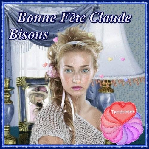 Bonne fête Claudie Claude Claudette et dérivés  22874910