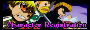 Character Registration