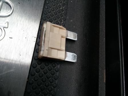 Impossible de tourner la clé dans le contact... 20141212