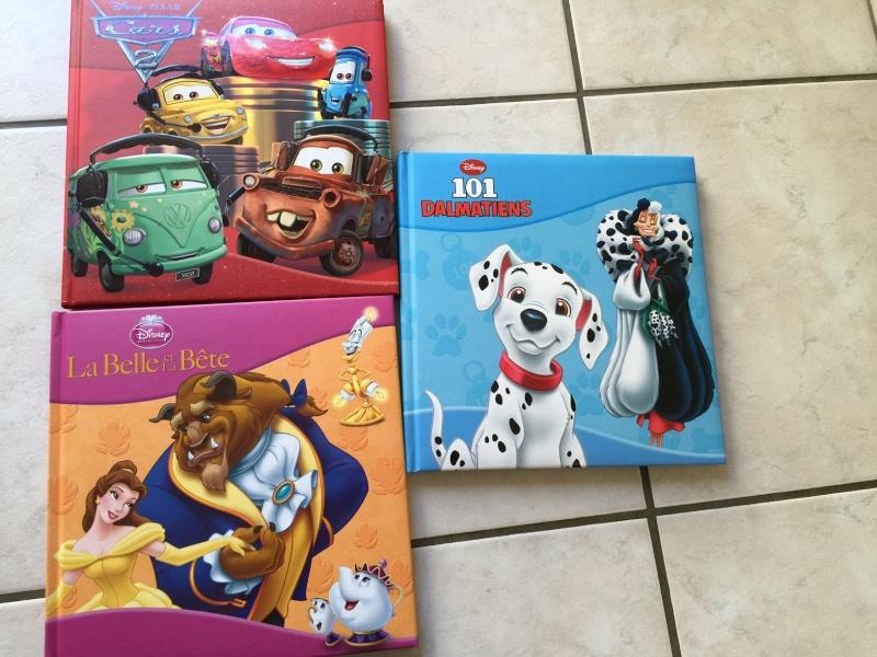 Grand jeu concours Disney de Noël  - Page 5 Livres10
