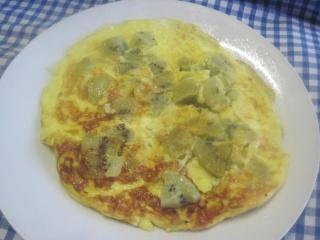 Omelette aux kiwis.+ photos. 10408110