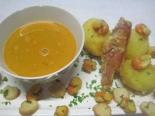 Soupe de poissons au raz el hanout. 10616010