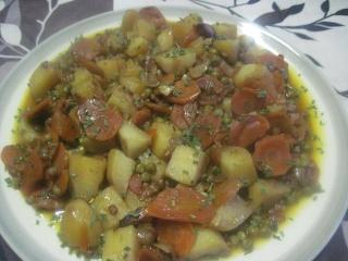 Jardinière de légumes.+ photo. 10959510
