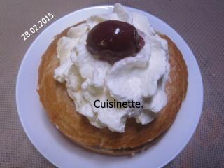 Bagels crème de châtaignes.griottes.Chantilly.photos. Img_0811