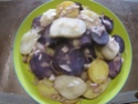 Salade de pommes de terre et topinambour en salade.photos. Img_0634