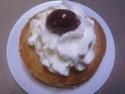 Bagels crème de châtaignes.griottes.Chantilly.photos. Img_0810