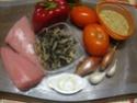 Aiguillettes de dinde.champignons noirs en sauce. Img_0815