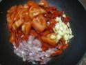 Aiguillettes de dinde.champignons noirs en sauce. Img_0821
