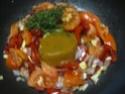 Aiguillettes de dinde.champignons noirs en sauce. Img_0823