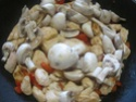 Cubes de poulet aux poivron.champignons.photos. Img_0944
