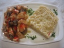 Cubes de poulet aux poivron.champignons.photos. Img_0947