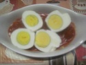 œufs durs en sauce tomates. gratiné.photos. Img_6266
