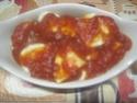 œufs durs en sauce tomates. gratiné.photos. Img_6268