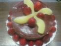 Vacherin aux poires et fraises.Chantilly.photos. Img_6319