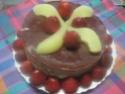 Vacherin aux poires et fraises.Chantilly.photos. Img_6320