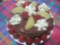 Vacherin aux poires et fraises.Chantilly.photos. Img_6321