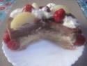 Vacherin aux poires et fraises.Chantilly.photos. Img_6323