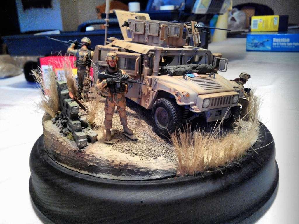 Humvee M1151 Academy 1/35 [Ultronix] - Page 3 Img_2010