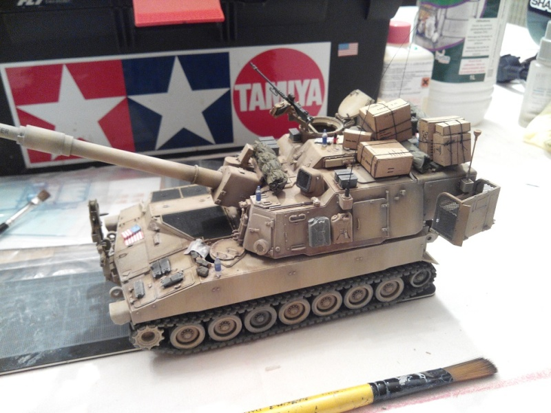 M109A6 Paladin 1/35 AFV Club [Ultronix] - Page 2 Img_2061