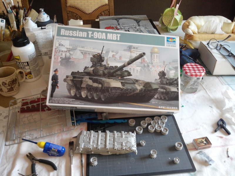 T90A MBT Trumpeter 1/35 [Ultronix] Img_2071