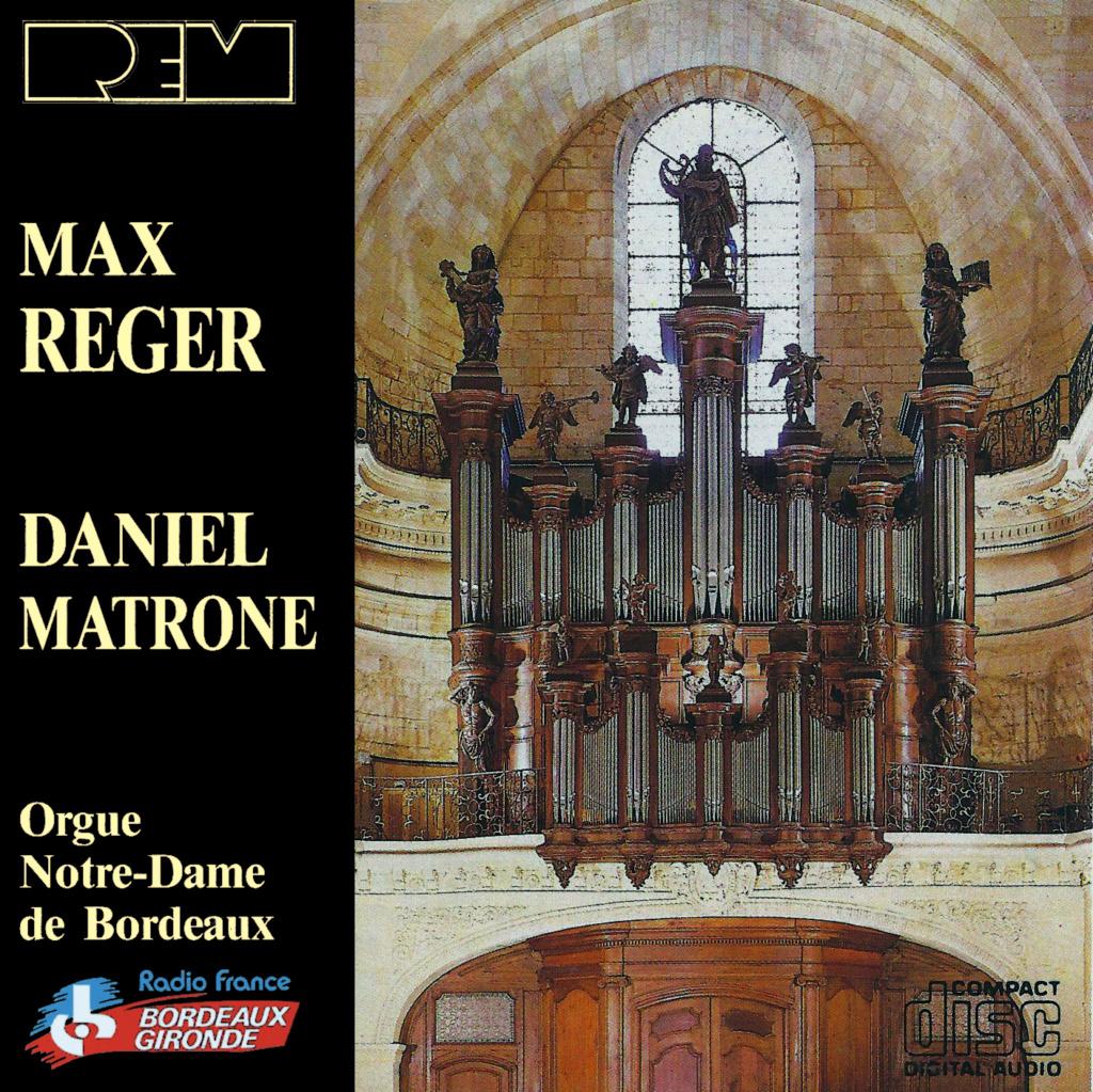 Reger - Oeuvres pour orgue Reger10