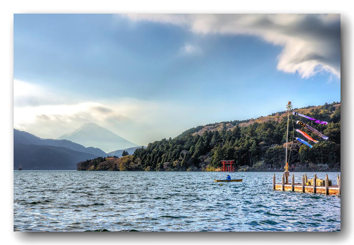 Le mont Fuji depuis le lac Ashi Fuji_210