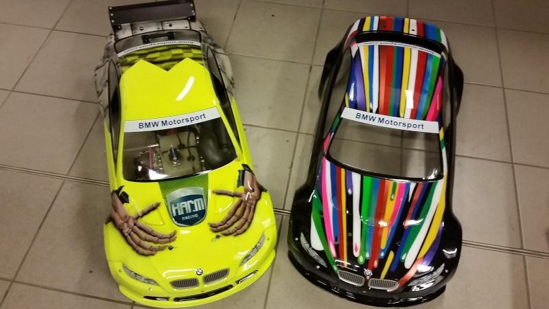 Wieder mal ne neue Karo fertig...1:5 BMW und noch ne kleine 1:10 Mazda6 ;)) 20150210